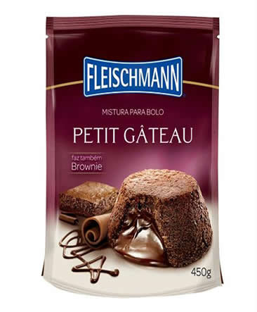 Mistura Para Bolo Fleischmann Petit Gáteau