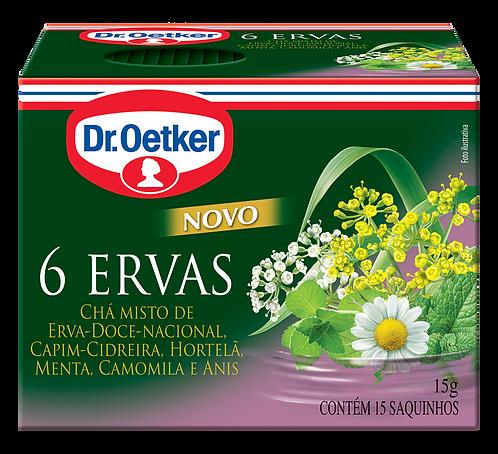 Chá Dr Oetker 6 Ervas