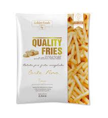 Batata Corte Fino Golden Foods 2.5 kg