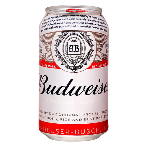 Cerveja Budweiser 350 ML
