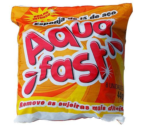Lã de Aço Aqua fast