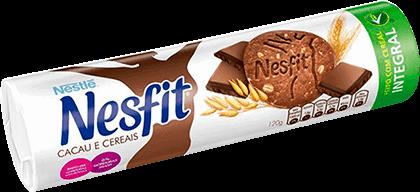 Biscoito Cacau e Cereais Nesfit