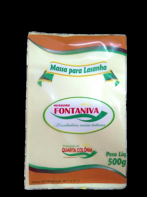 Massa para Lasanha Fontaniva 500g
