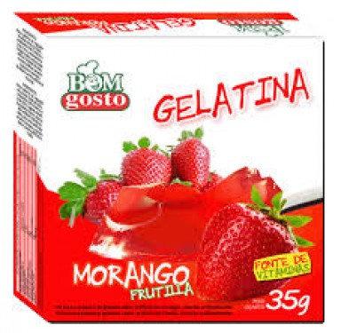 Gelatina Bom Gosto 35g