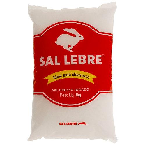 Sal Grosso iodado Lebre 1 KG