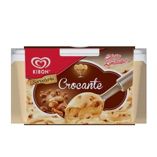 Sorvete Kibon Crocante