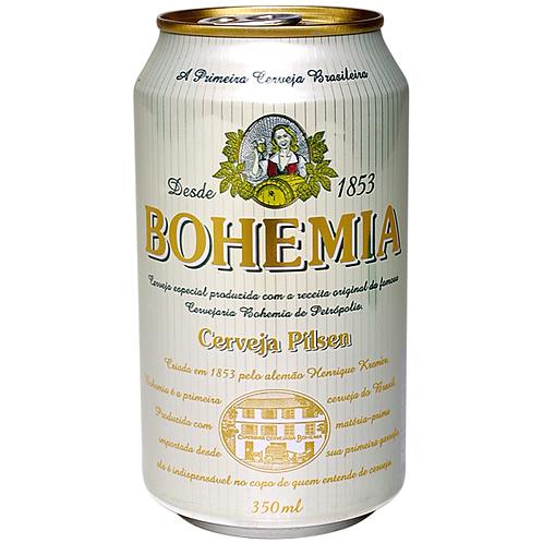 Cerveja Bohemia Lata 350