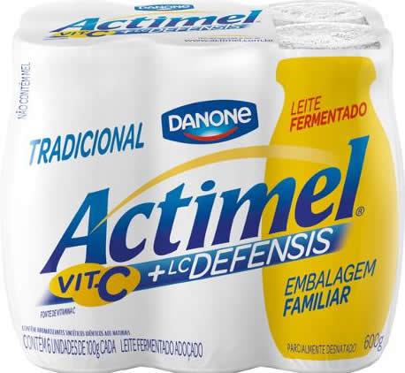 Leite Fermentado Actimel 600g
