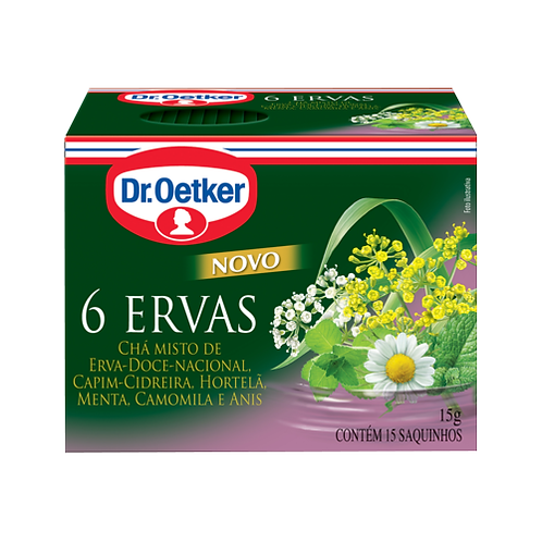 Chá  6 Ervas