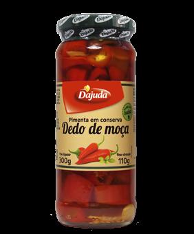 Pimenta em Conserva Dedo de Moça
