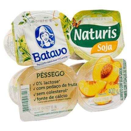 Iogurte Naturis Pêssego
