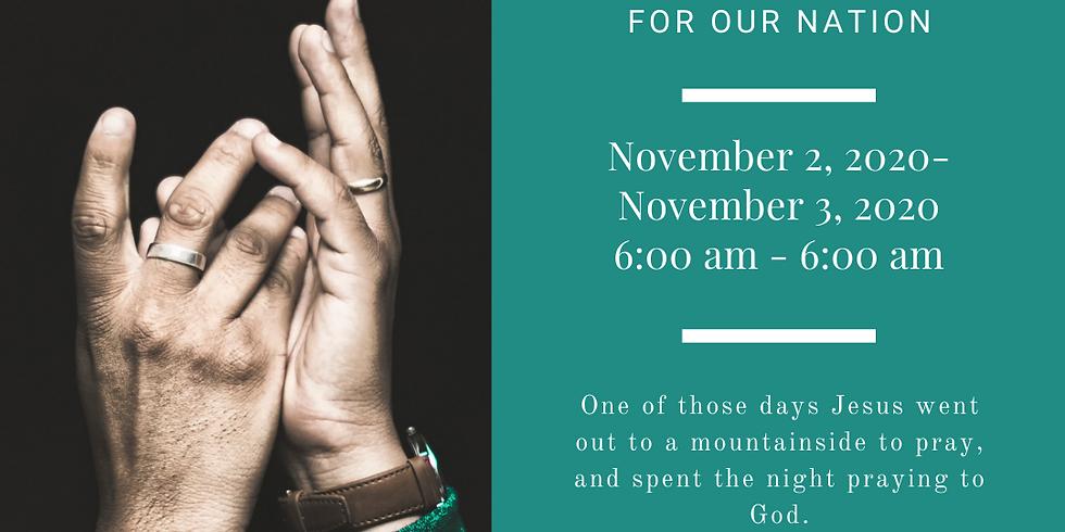 24 Hour Prayer Vigil