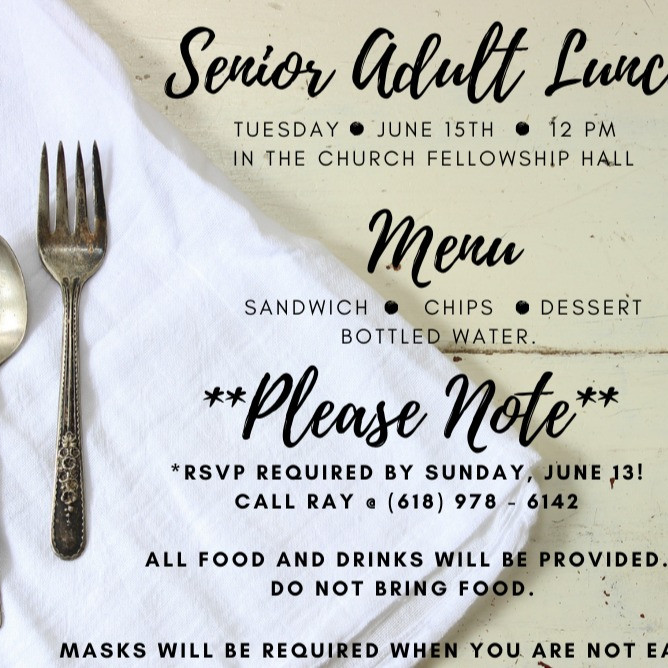 Senior Lunch