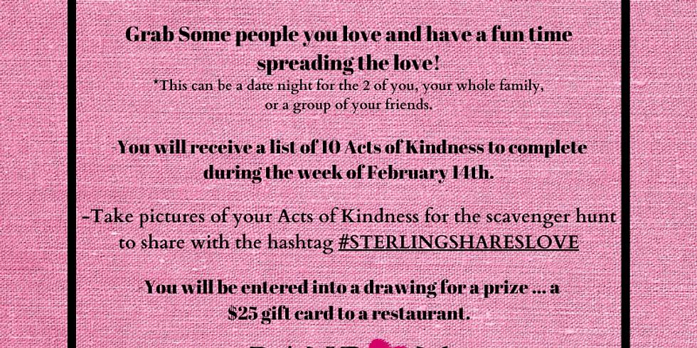 Random Acts of Kindness Scavenger Hunt