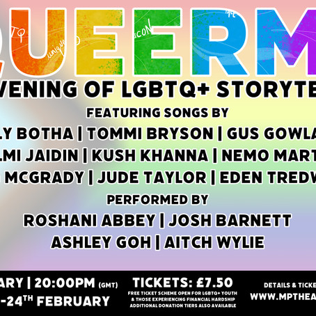 QUEERME: An Evening of LGBTQ+ Storytelling Announced!