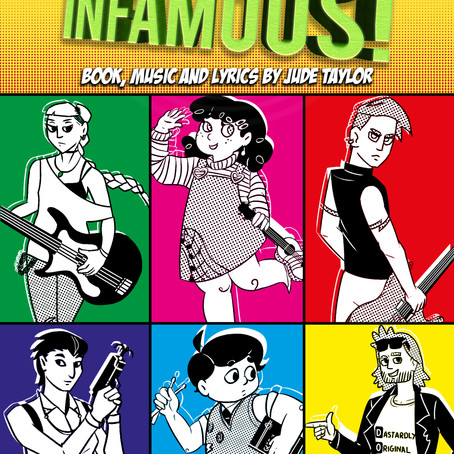 New Musical, Make Me Infamous, launches in radio theatre production