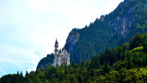 The fairy-tale castle: The Neuschwanstein Castle, Hohenschwangau, Germany, 2016