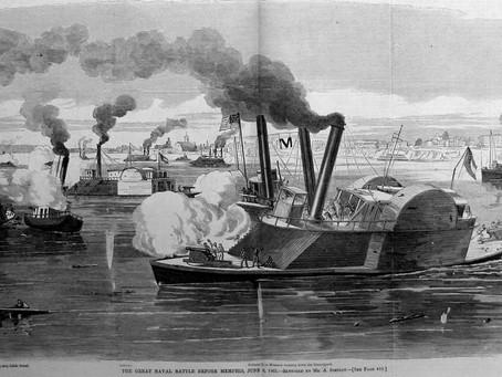 Battle of Memphis  Ship Cards