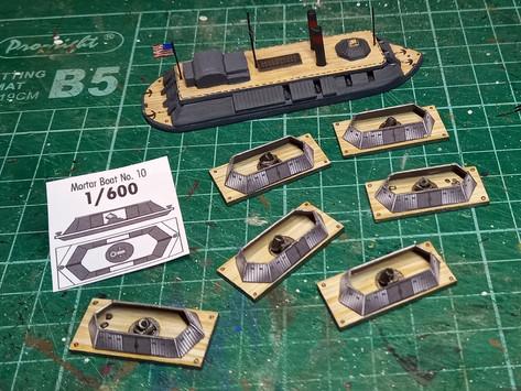 Building Mortar Boats
