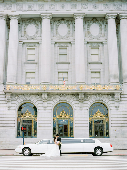 San Francico city hall wedding Blooming Wed 8