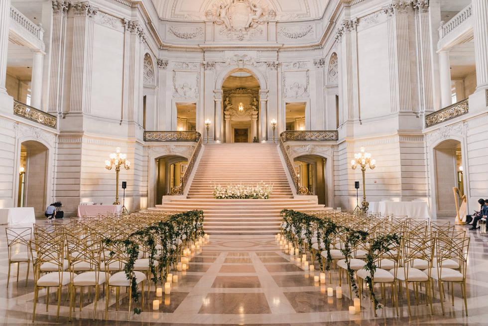 San Francico city hall wedding Blooming Wed 38