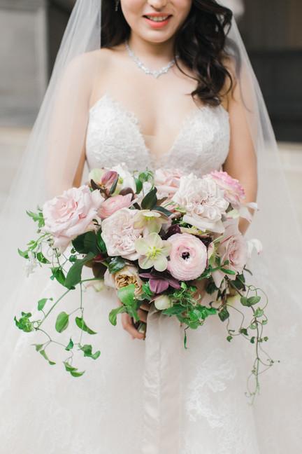 San Francico city hall wedding Blooming Wed 46