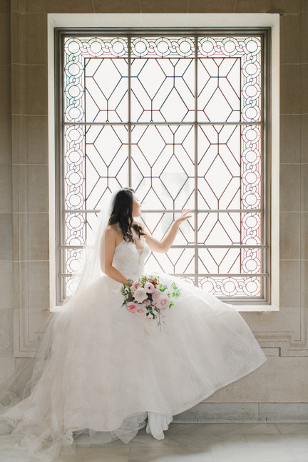 San Francico city hall wedding Blooming Wed 26