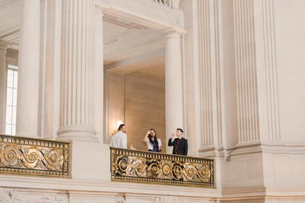 San Francico city hall wedding Blooming Wed 9
