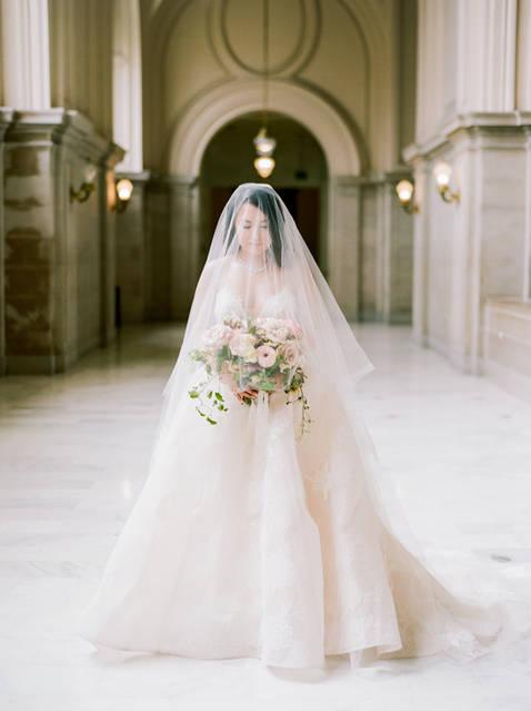 San Francico city hall wedding Blooming Wed 5
