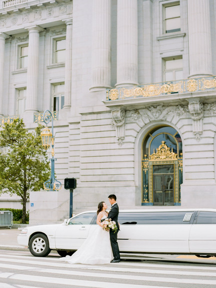 San Francico city hall wedding Blooming Wed 6