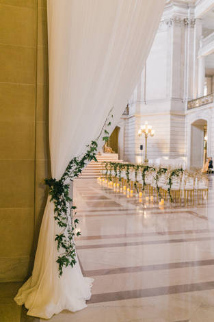 San Francico city hall wedding Blooming Wed 36
