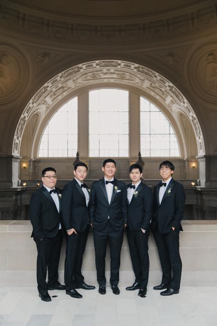 San Francico city hall wedding Blooming Wed 41