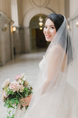 San Francico city hall wedding Blooming Wed 45