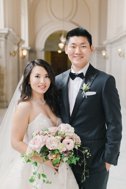 San Francico city hall wedding Blooming Wed 44