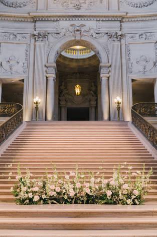 San Francico city hall wedding Blooming Wed 34