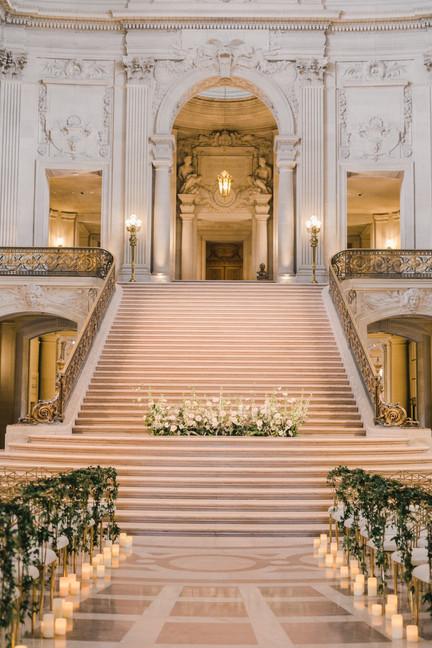 San Francico city hall wedding Blooming Wed 37