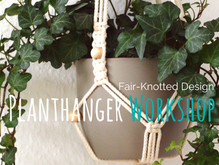Fair-Knote doch auch mal!             Macrame Workshops in Hannover-Linden
