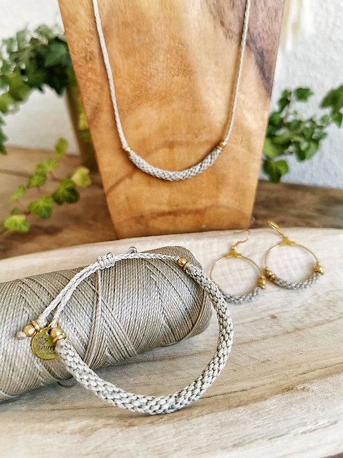 SET Kollektion TULIPAN | Kette, Armband & Creolen