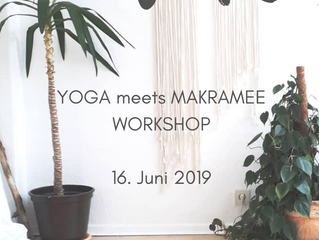 YogaART I Yoga meets Makramee