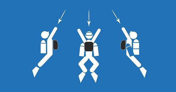 Les différentes configuration du recycleur Triton