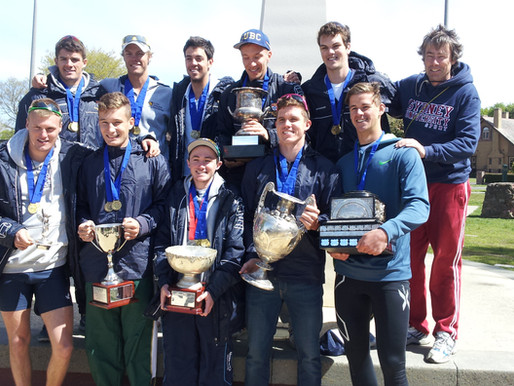 Golden Day at 2013 Uni Rowing Championships
