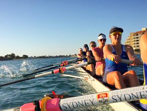 SU Women Start Long Way Back – 2015 Australian Boat Race