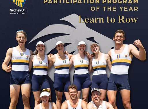 Boat Club Honoured in Sydney Uni Sport 2020 Sports Awards