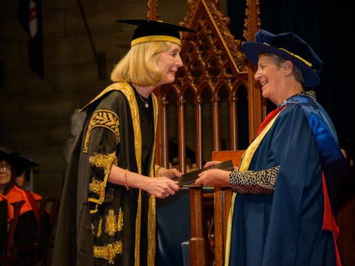 Anne Titterton Awarded Honorary Fellowship