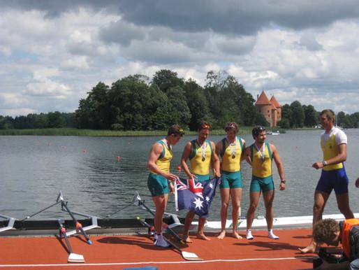 Men's Quad Wins Bronze at U23 World Championships