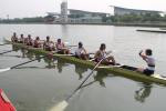SUBC Eight head out to race in Shanghai