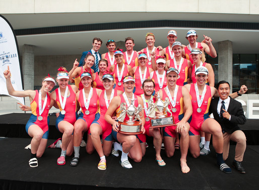 Sydney Uni Head South for the Boat Race