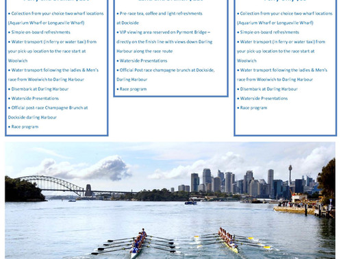 The Boat Race – Spectator Packages