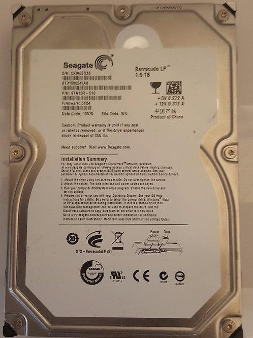 Seagate 1.5 TB Hard Drive
