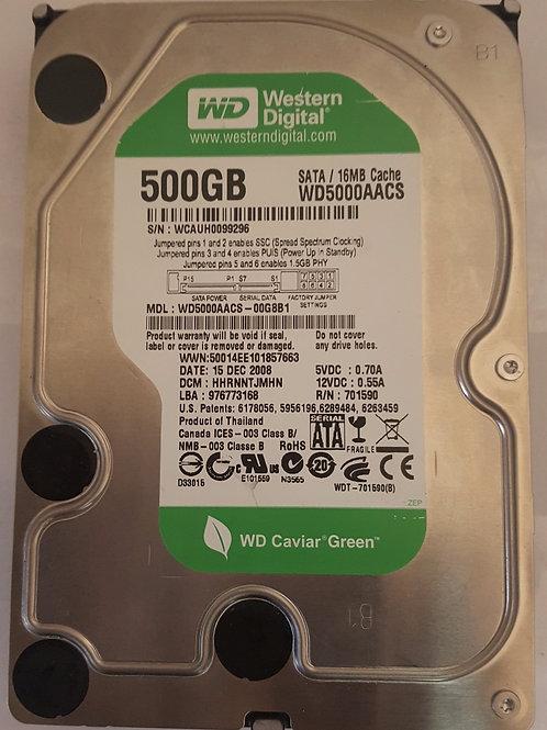 Western Digital Caviar Green 500GB Hard Drive
